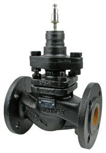 2-way flanged valve, PN 40 (el.)
